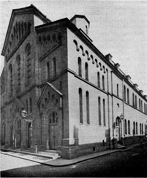 Bývalá Nová synagoga v Brně
